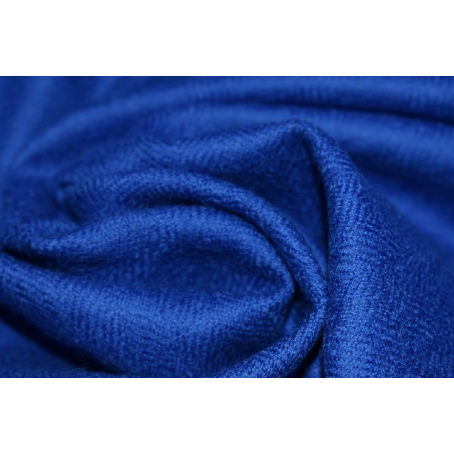 Fabric- Plain, 2m,  100% Merino Wool 2/20 Blue