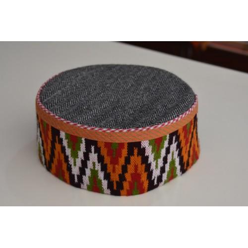 Cap- Kulluv 6 No. i 100 % Handloom Merino Wool Multicolour C