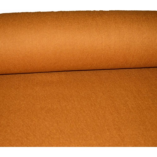 Fabric- Plain , 2 m, 100% Merino Wool Fabric 2/20 Mustard