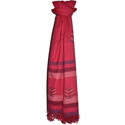 Shawl-103 Merino Wool 2/72 Pink