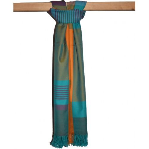 Shawl- BO 59 Merino Wool Multicolour