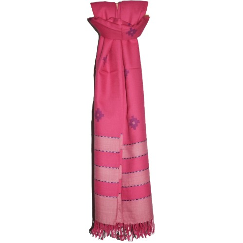 Shawl- REF 1 Merino Wool 2/72 Pink