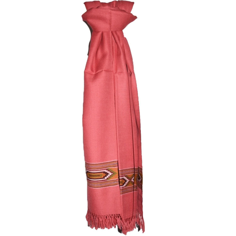 Shawl- 200 Pollywool 2/48 Pink