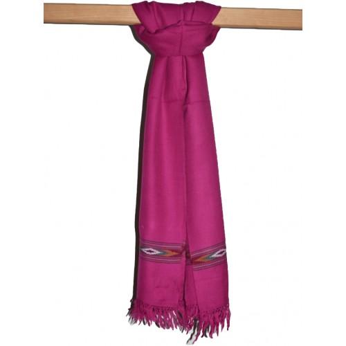 Shawl-393 Merino Wool 2/48 Pink