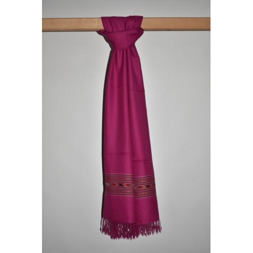 Stole-396 Merino Wool 2/72 Pink